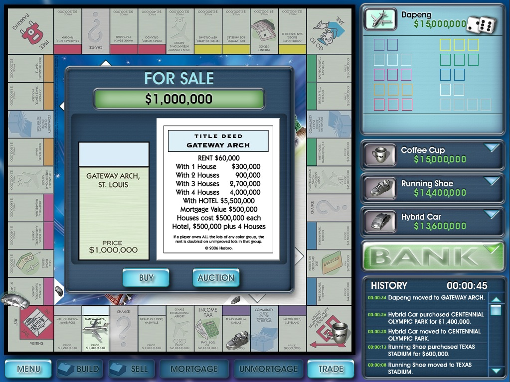 Monopoly Here and Now PC version